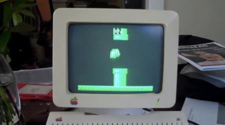 La locura del día: Flappy Bird en un Apple IIe