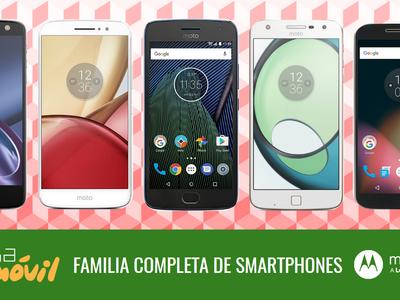 Moto G5 y Moto G5 Plus, así encajan dentro del catálogo completo de smartphones Moto by Lenovo en 2017