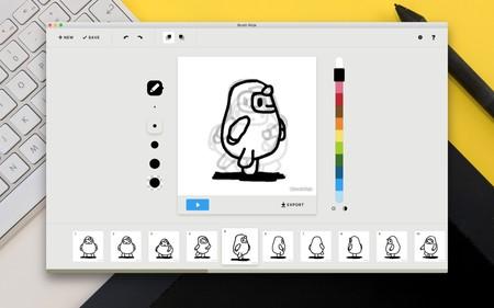Brush Ninja, crea tus propias animaciones desde el navegador de forma rápida y sencilla