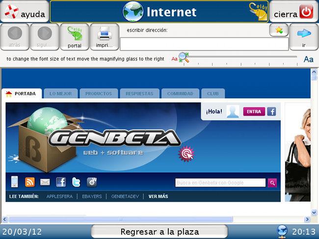 Eldy navegador