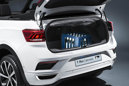 Volkswagen T Roc Cabrio maletero