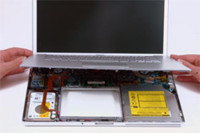 Así es el interior del MacBook Pro Core 2 Duo