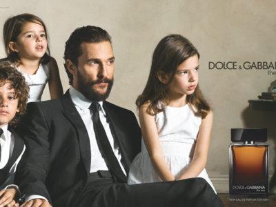 Matthew McConaughey presta su rosto como nuevo embajador de la fragancia The One for Men de D&G