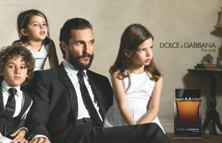 Matthew McConaughey presta su rosto como nuevo embajador de la fragancia The One for Men de D&G