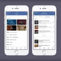 Facebook quiere que encuentres eventos a tu alrededor de forma más fácil