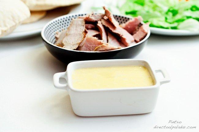 Salsa de miel y mostaza