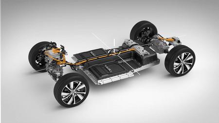 Volvo Xc40 Recharge 05 Estructura