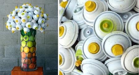 flores aerosol amarillo