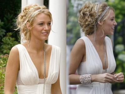 ¡Stooooop! Aquí está el vestido de novia de Serena Van Der Woodsen... ni te lo imaginas