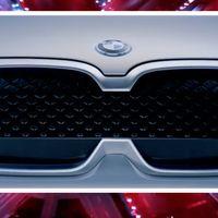 Esta parrilla es del BMW iX3 Concept que se presentará la próxima semana