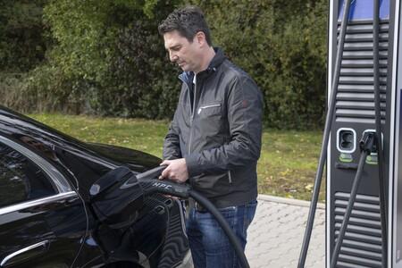 Mercedes Benz Clase S Phev Cargador Cargando