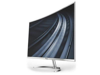 Esta pantalla curva de 40 pulgadas con resolución 4K no es un televisor, es un monitor de Philips
