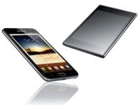LG Optimus Vu y Galaxy Note, duelo de teléfonos gigantes