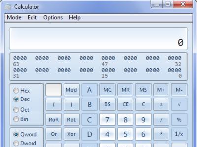 Mejoras en la calculadora de Windows 7