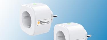 """Haz tus electrodomésticos """"inteligentes"""" con este pack de enchufes compatibles con HomeKit rebajados a 29,99 euros en Amazon"""