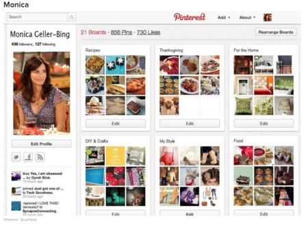 Monica y Pinterest
