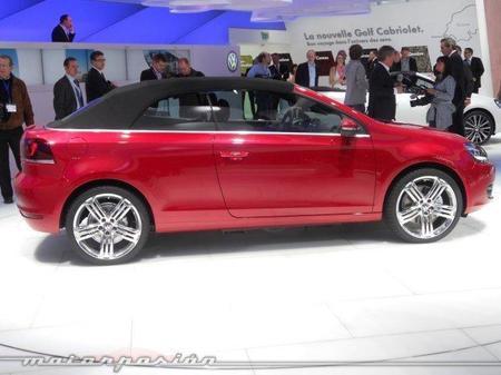 Volkswagen Golf Cabrio en el Salón de Ginebra
