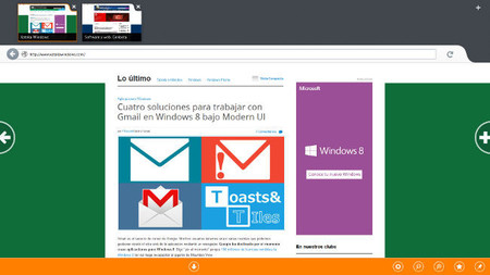 Firefox para Windows 8 con interfaz Modern UI no estará listo hasta finales de 2013