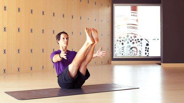 Abdominales pilates