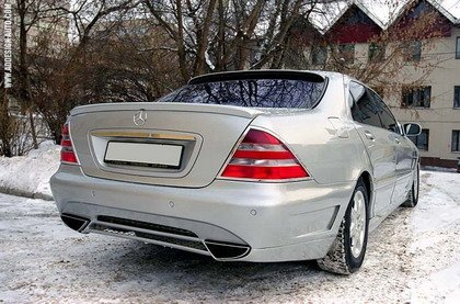 Mercedes Clase S SLR