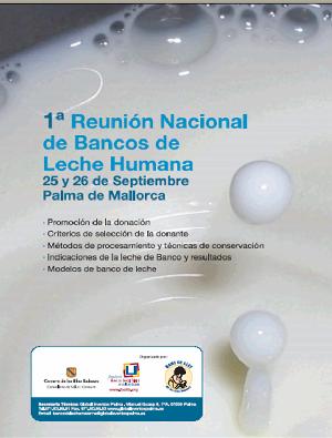 Primera reunión nacional de Bancos de Leche
