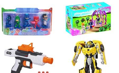 6 juguetes rebajados en Amazon por menos de 25 euros: Transformers, Playmobil o PJ Mask para todas las edades