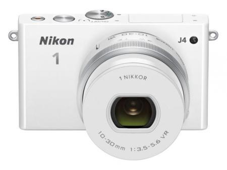 Nikon 1 J4 de frente
