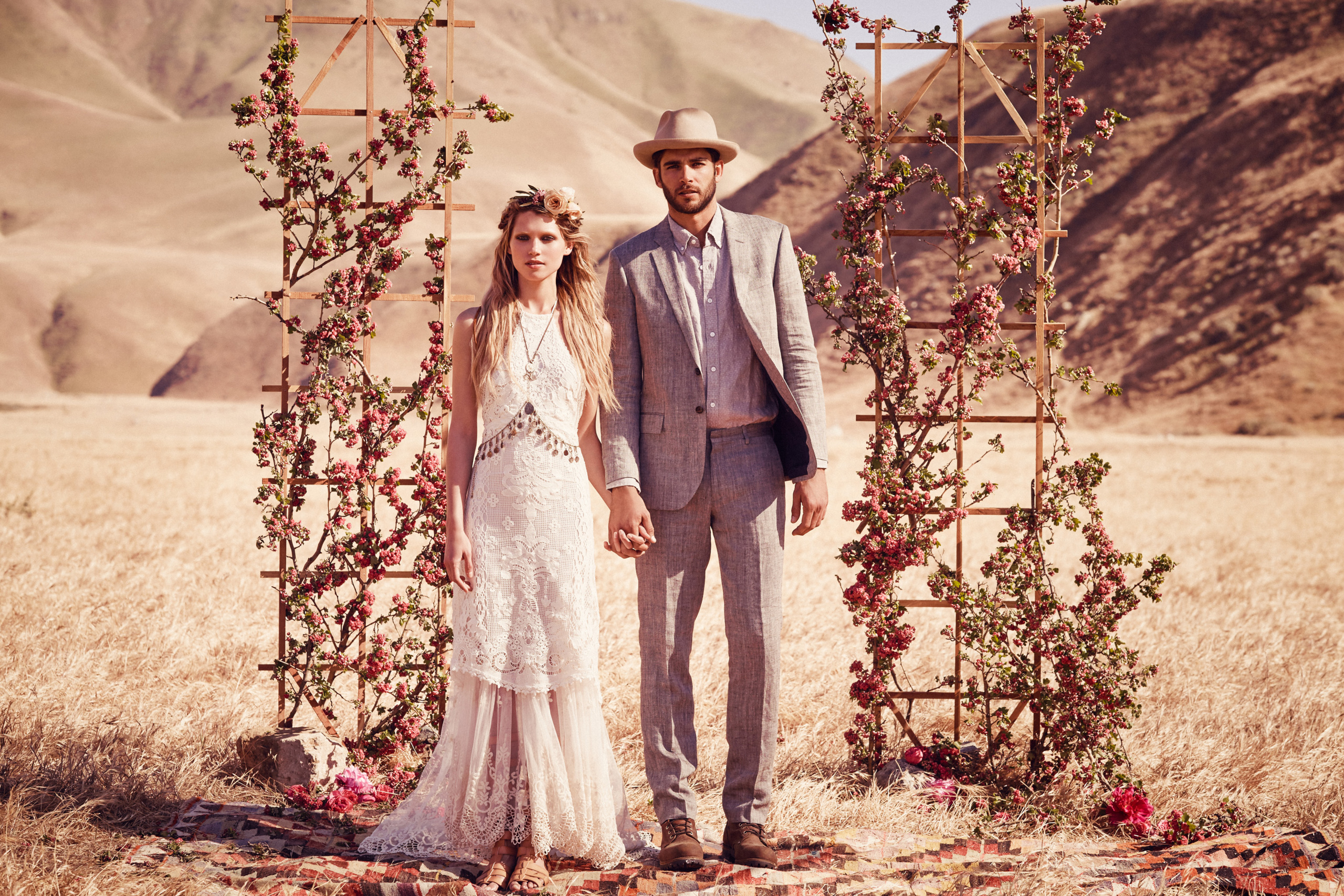 Foto de Free People Bohemian Bridal Collection 2015 (1/12)