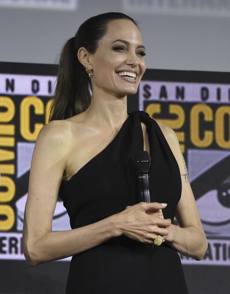Angelina Jolie Comic Con 2019