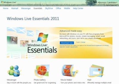 Ya se puede descargar la versión final de Messenger y Windows Live Essentials 2011