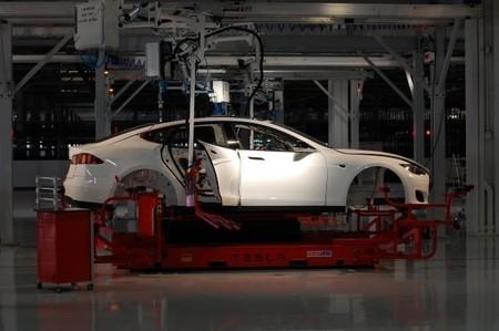 Tesla Model S Frabicacion California 1