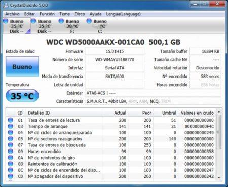 Western Digital WD5000LPVT info