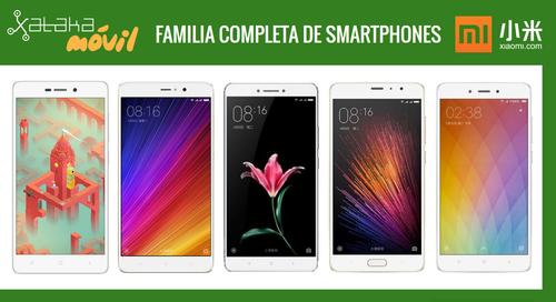 Xiaomi Mi 5s y Mi 5s Plus, así quedan dentro del catálogo completo de móviles Xiaomi
