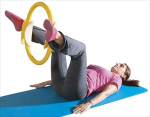 Aro de pilates para intensificar los resultados de esta actividad