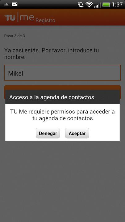 Foto de TU Me para Android (7/16)