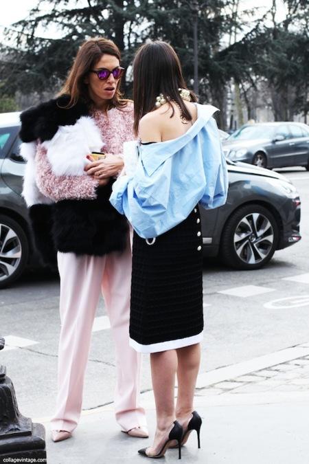 Duelo de collares: las maxi perlas de Chanel, ¿quién lo luce mejor?