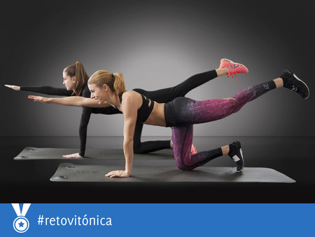 #RetoVitónica: un ejercicio con tu propio peso corporal para cada día de la semana