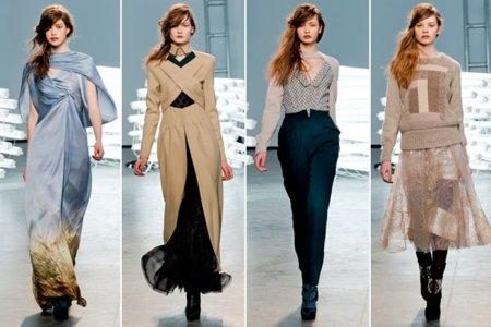 Rodarte otoño 2011 en la semana de la moda de Nueva York