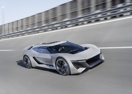 Te están buscando, Porsche Taycan. Audi presenta su concepto eléctrico PB18 e-tron de alto rendimiento