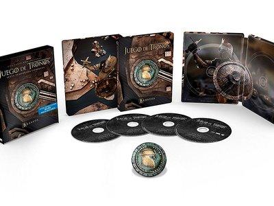 En Casa del Libro, tenemos la sexta temporada de Juego de Tronos en BluRay y steelbook por sólo 42,10 euros