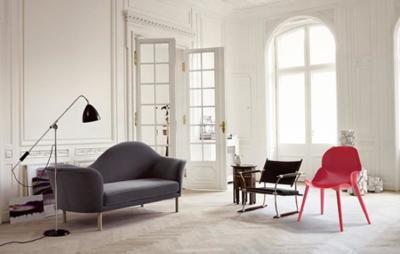 Creando contrastes de estilos con la silla Three de Alexandre Boucher