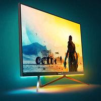 Philips presenta nuevo monitor de 35 pulgadas con tecnología Ambiglow pero resolución 1080p
