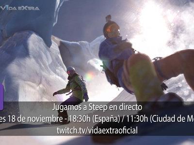 Jugamos en directo a Steep a las 18:30h (las 11:30h en Ciudad de México) [Finalizado]