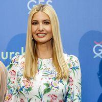 Los dos looks florales de Ivanka Trump que contarían con la aprobación de la Reina de Inglaterra