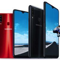 Samsung Galaxy A20s: tres cámaras traseras y algo más de potencia para uno de los más básicos de Samsung
