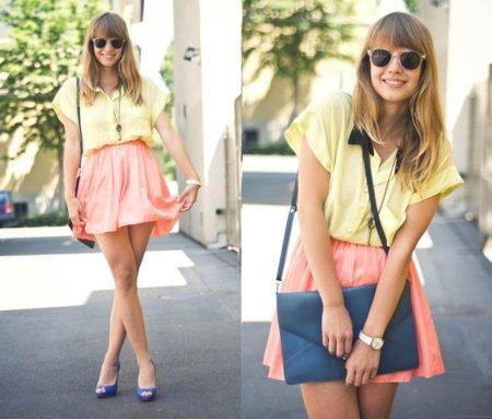 Moda en la calle: el color como última tendencia