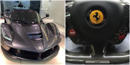 El chef Gordon Ramsay estrena su Ferrari LaFerrari