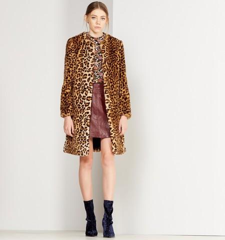 Con estampado leopardo