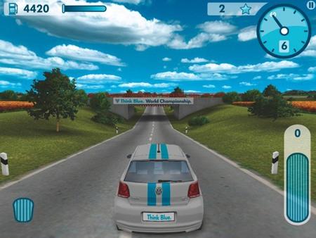 El videojuego de Volkswagen para ahorrar combustible