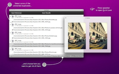 Singlemizer te ayuda a encontrar duplicados en OS X